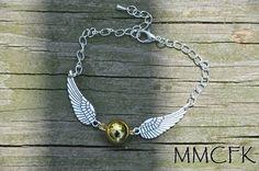 Harry Potter Keepsake Ornate Steampunk Flying in Silver by MMCFK