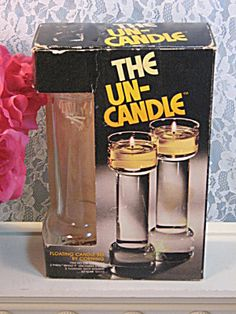 The Un-Candle == got one of these for my wedding in 1977