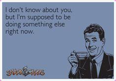 Especially now