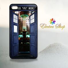 iPhone 4 4s Hard Case  Inside Tardis Doctor   by ElectraShop, $14.99