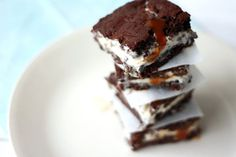 Yummy Mummy Kitchen: Brownie and Salted Caramel Ice Cream Sandwiches