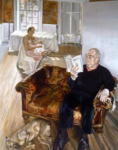 Large Interior, Notting Hill, 1998 Lucian Freud
