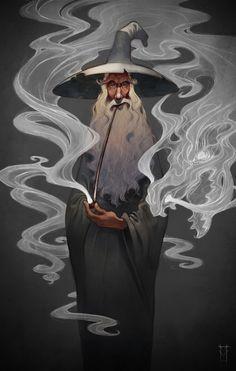 Fantasy Illustration by Victor Maury, via Behance