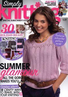 Библиотечка рукодельницы: Simply Knitting №96 2012