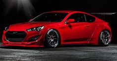 will certainly enhance your desire for this car as well. Don't miss the 2015 Hyundai Genesis Coupe By Blood Type Racing at this year's SEMA show.