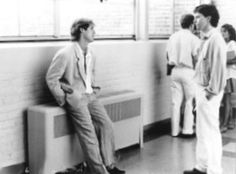 Andrew McCarthy & James Spader in Pretty in Pink. major crushes :P --- two of my most favorite men James Spader Young, Andrew Mccarthy, Brat Pack, 80s Tv, Movies Worth Watching, Funny Comments, Moving Pictures, Celebs, Celebrities