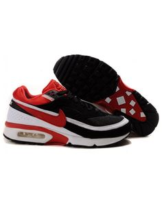 promo code c8e5e e7b5e Nike Air Max Classic BW Mens Black White Red Air Max Classic, Black And  White