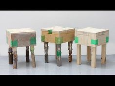 Graduate shows Royal College of Art graduate Micaella Pedros has repurposed discarded plastic bottles into joints that can be used to hold wooden furniture together (+ movie).The MA Design …
