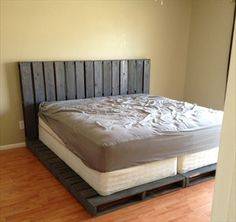 Pallet bed! Every teens dream