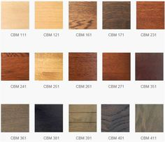 Vloerbeits Kleuren | Beits Kleuren | Waterbeits | Kleuren Beits