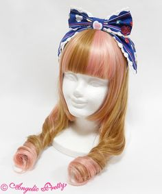 Angelic Pretty Diner Dollカチューシャ