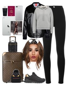 """""""*1698"""" by asoc10 ❤ liked on Polyvore featuring Givenchy, NIKE, T By Alexander Wang, New Balance, Louis Vuitton, Chanel, Fendi, 17, planeride and tuesday"""