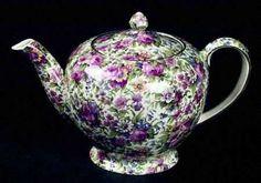 Albans Shape Teapot in the older Summertime ~ Chintz