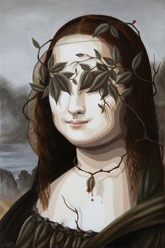 Mona Leaf  By Duma #art #painting #mona