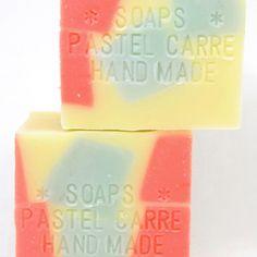 citrus cube - 手作り石鹸の通販ネットショップ artist made soap PASTEL CARRE