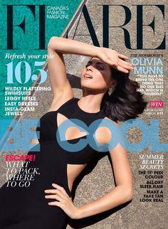 Flare Magazine - Flare July 2013 Cover