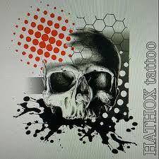 tattoo designs trash polka skull - Buscar con Google