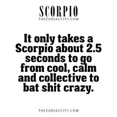 Scorpio Facts. For more zodiac fun facts, click here.
