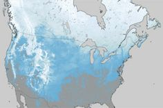Snow Deficit : Image of the Day : NASA Earth Observatory 2012