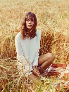 Field girl photo inspiration idea photography modeling model