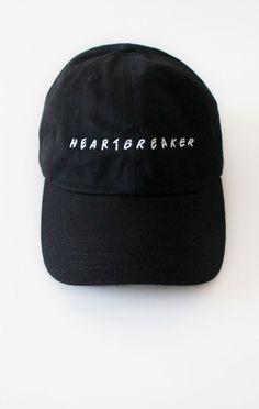 bcb5ce88cce Heartbreaker Cap - Black Outfits 2016