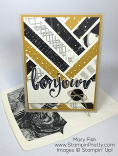 """The 411 on My """"Bonjour"""" Card"""