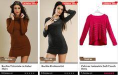 Lichidari de stoc la BeFashion.ro | Zgarciti.ro - Comunitatea Zgarcitilor din Romania Sweaters, Dresses, Fashion, Moda, Vestidos, Fashion Styles, Sweater, Dress, Dressers