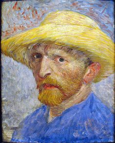 https://flic.kr/p/56d3nh | Self Portrait, 1887 | Vincent van Gogh Dutch, 1853-1890 Oil on Artist Board, mounted to Wood Panel Detroit Institute of Arts. March 30, 1853-July 29, 1890 Like another earlier Dutch painter, Rembrandt, van Gogh painted many self-portraits. He didn't have much money, in fact it is said he never sold a painting. He just loved to paint, and when he needed to do people, himself was always available. 9253