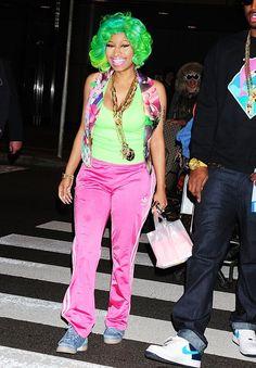 Colourful Outfits, Colorful, Nicki Minaj Photos, Hello It, Bass, Singer, Japan, Music, Prints