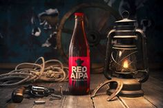 BIRBANT Red AIPA Label design