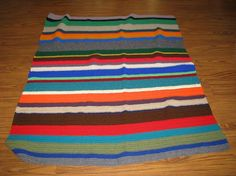 Blanket of many colors