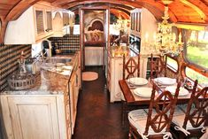 not so simple camping- totally elegant, wish my house was this classy.  Airstream Makeovers traditional kitchen