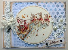 Stampavie, Christmas card, Distress Ink