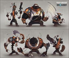 artworks de ratchet clank od