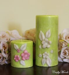 Crafty Moods - Free craft and lifestyle projects resource for all ages: Dollar Store Candles for Wedding Centerpieces