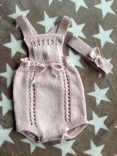 Sød kjole til nyfødte piger. Den er ikke svær, og der er