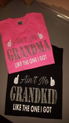 Matching Grandma/Granddaughter shirts