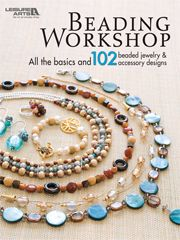 Whether you're a beginner, or an experienced beader, you'll find everything you need to know right here & 102 designs to spark your creativity. Includes a wealth of info on beads, findings and techniques that make our designs so fresh and original. You can view our extensive showcase of design ideas. Necklaces, bracelets, rings, pins, key fobs -- you'll find a wide array of sparkling concepts! Reasonably priced!