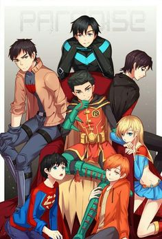 halbarry and birdflash Batwoman, Nightwing, Son Of Batman, Batman Family, Batman Robin, Superman, Damian Wayne, Barbara Gordon, Jason Todd