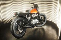Kawasaki Z650 Brat Style by Kerozin #motorcycles #bratstyle #motos   caferacerpasion.com