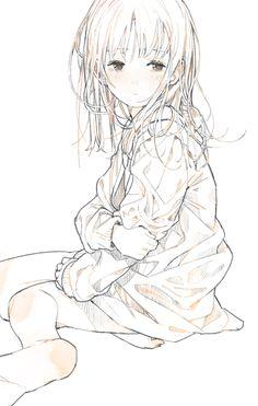 Anime Child, Anime Art Girl, Manga Art, Anime Drawings Sketches, Anime Sketch, Art Drawings, Anime Disney, Character Art, Character Design