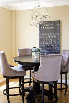 Our San Francisco Glass Coat art is the perfect piece for this SF apartment featured on @apttherapy.
