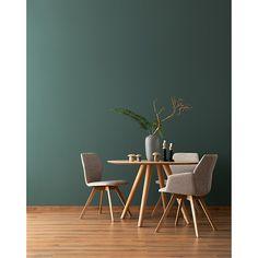 Beautiful living wall paint design paint (be . - Beautiful living wall paint design color (contemplative forest green, l, fine matt) Bauhaus, Living Room Decor, Bedroom Decor, Paint Designs, Room Inspiration, Sweet Home, Interior Design, Furniture, Home Decor