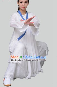 Top Tai Chi Uniforms Kung Fu Costume Martial Arts Kung Fu Training Uniform Gongfu Shaolin Wushu Clothing for Men Women Adults Children Kung Fu Martial Arts, Martial Arts Women, Tai Chi Clothing, Bruce Lee Kung Fu, Energy Arts, Internal Energy, Art Poses, Adult Children, Taekwondo