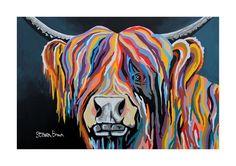 Highland Cow Chopping Board Richmond