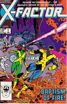 X-Factor 1 February 1986 Issue  Marvel Comics  by ViewObscura