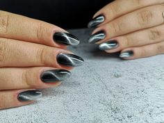Silver Rings, Nails, Beauty, Jewelry, Finger Nails, Jewlery, Ongles, Jewerly, Schmuck