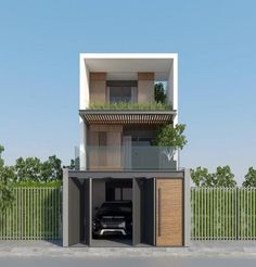 Thiết kế nhà phố Small Space Interior Design, Small House Design, Modern House Design, Style At Home, Townhouse Designs, Narrow House, Modern Tiny House, Minimalist House Design, Box Houses