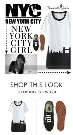 """""""Beautifulhalo 14"""" by shambala-379 ❤ liked on Polyvore featuring Vans and bhalo"""