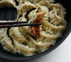만두 , .군만두,   dumpling, korean food